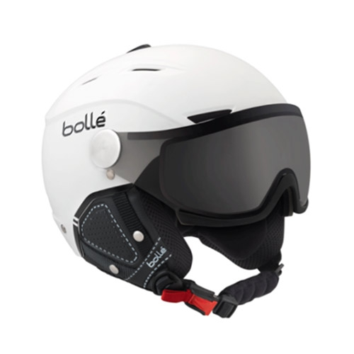 Bollé Backline Visor Premium Photochromic skihelm wit/zwart