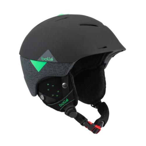 Bollé Synergy skihelm zwart/groen