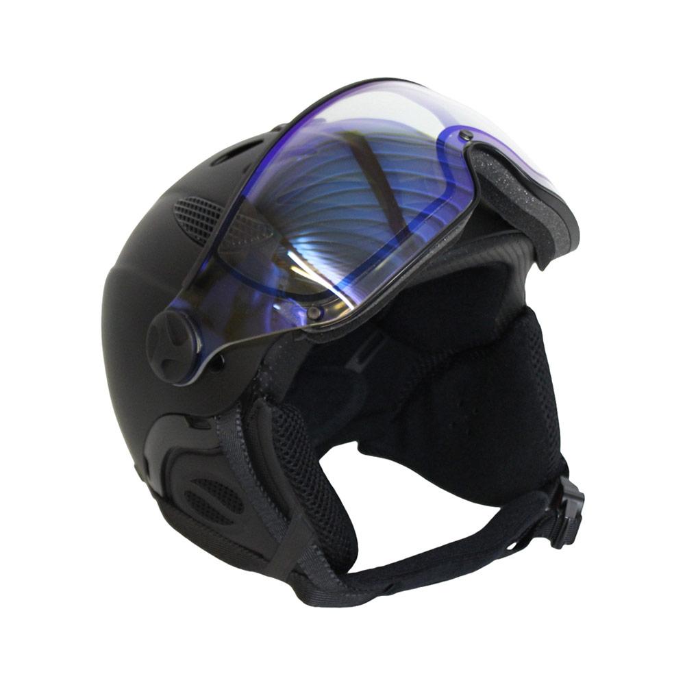Mango Cusna Free photochromic skihelm mat zwart/blauw