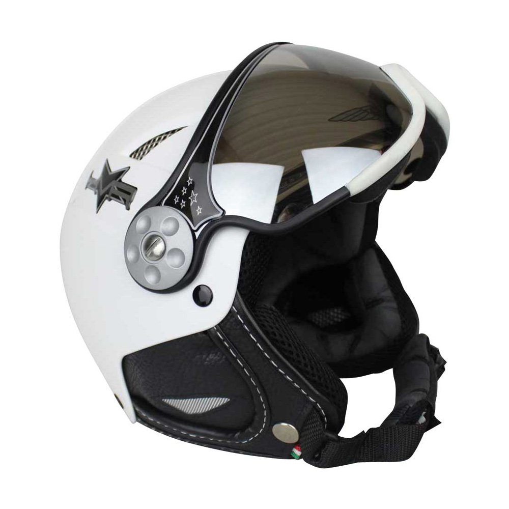 HMR H1 Basic Matt skihelm wit
