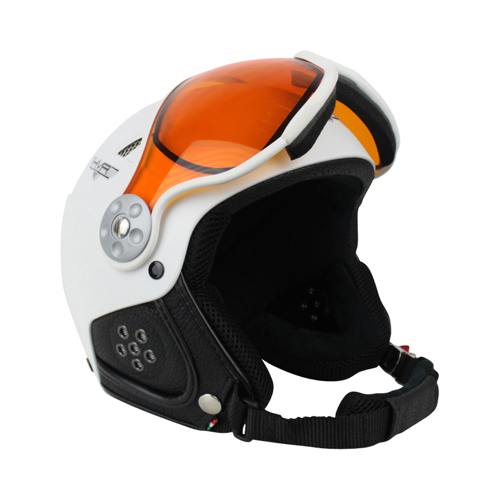 HMR H1 Soft Photochromic skihelm wit
