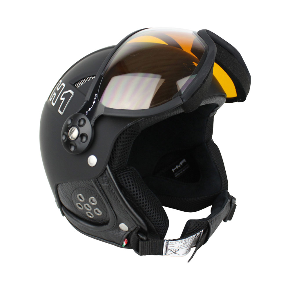 HMR H1 Soft Photochromic skihelm zwart/zilver