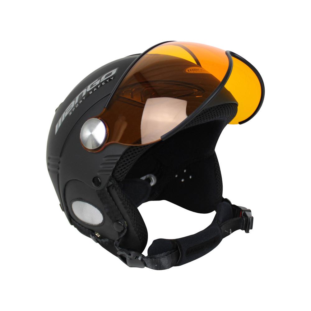 Mango Wind Free Pro skihelm zwart/zilver