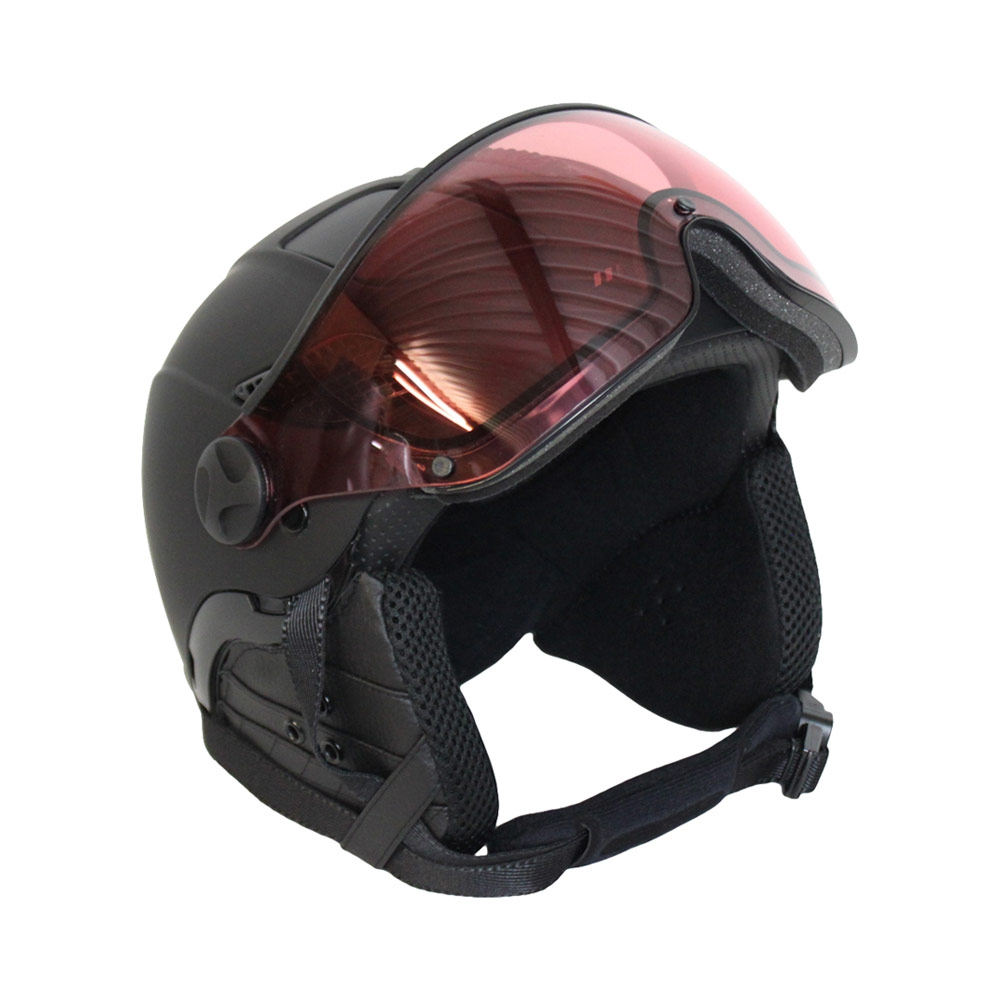 Mango Quota Free photochromic skihelm zwart/roze