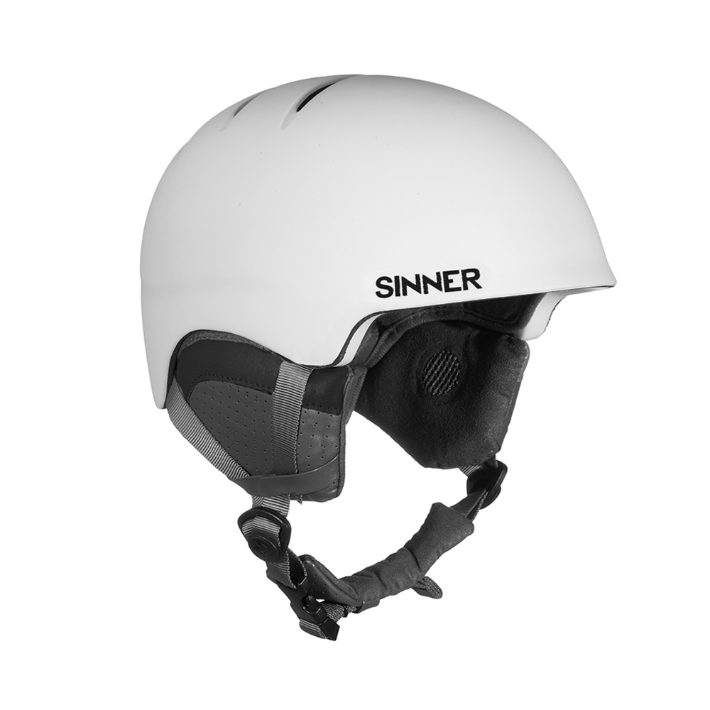Sinner Lost Trail skihelm wit/grijs