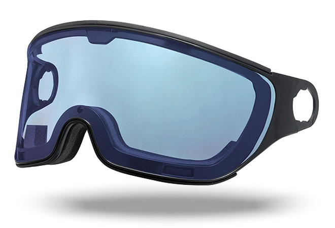 Mango Polar Photochromic helm vizier blauw