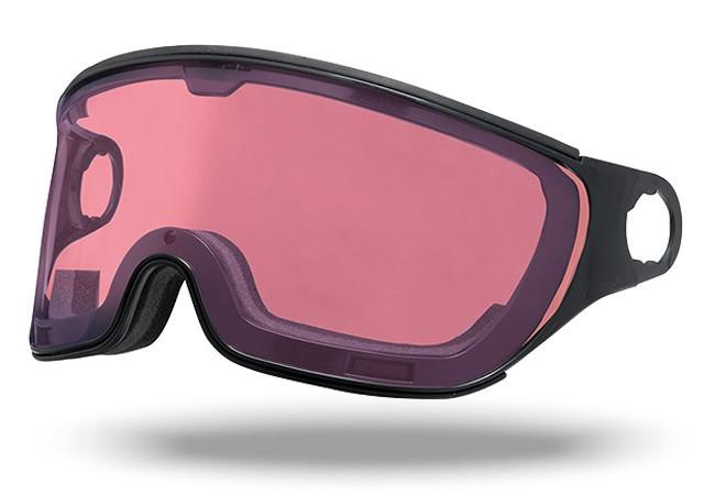 Mango Polar Photochromic helm vizier roze
