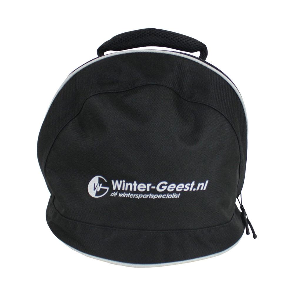 Winter-Geest skihelm tas zwart