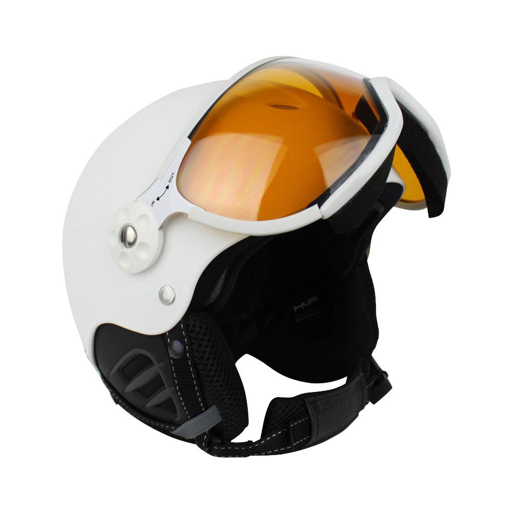 Zer035 Basic photochromic skihelm unisex wit