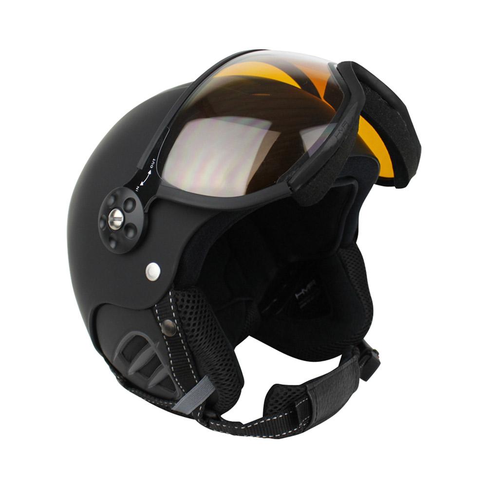 Zer035 Basic photochromic skihelm unisex zwart