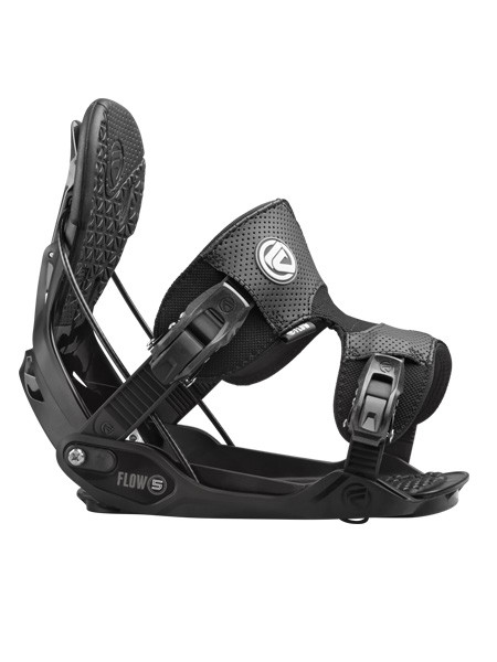 Flow Five Fusion Strap Snowboard Binding Black