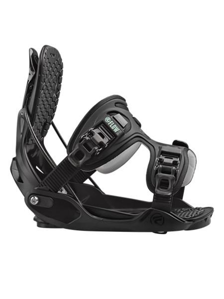 Flow Haylo Exofit Strap Dames Snowboard Binding Black